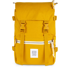 Topo Designs Rover Pack yellow canvas